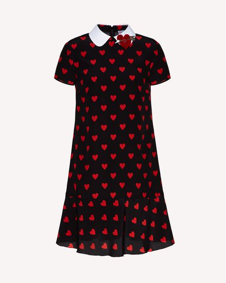 REDValentino Short dress Woman SR3VAH004AE 0NO a