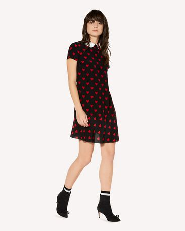 REDValentino SR3VAH004AE 0NO Short dress Woman d
