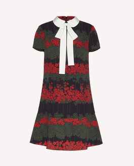 REDValentino Printed dress Woman SR3VAG454AQ 0NO a