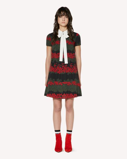 REDValentino Short dress Woman SR3VAF054AV 0NO f