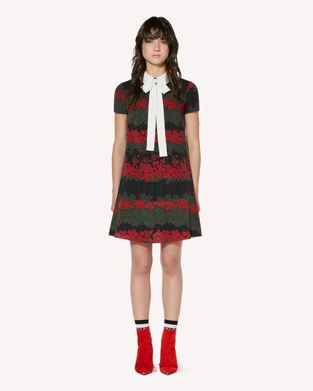 REDValentino Kurzes Kleid Damen SR3VAF054AV 0NO f