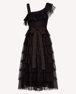 REDValentino Long and midi dresses Woman SR3VA03C4C5 0NO a