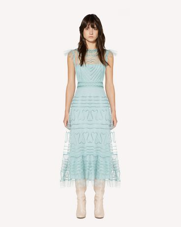 REDValentino SR3VA02U4CR GE5 Long and midi dresses Woman f