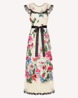 REDValentino Printed dress Woman SR0VA03Z4KM PE0 a