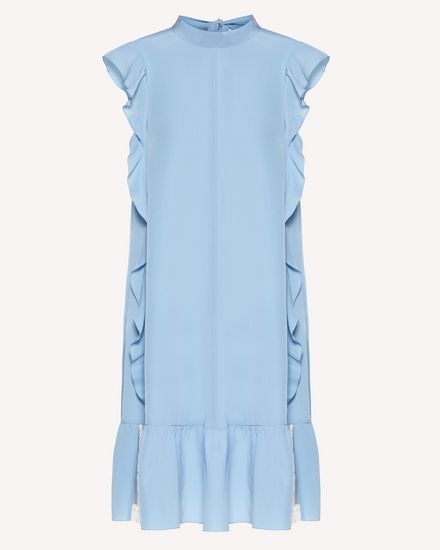 Limited Edition   Ruffle detail silk dress