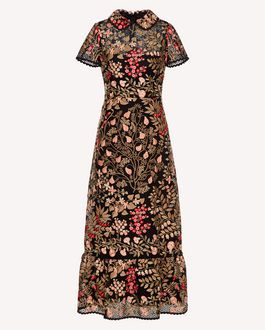 REDValentino Long dress Woman SR3VA03U4CF 0NO a