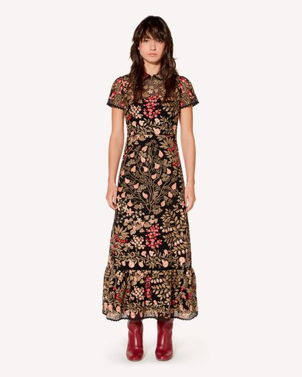 REDValentino Long and midi dresses Woman SR3VA02V4CV N78 f