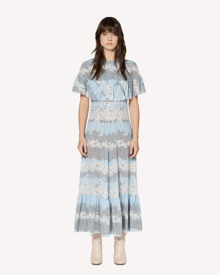 REDValentino Long dress Woman SR3VAG554A1 GE5 f