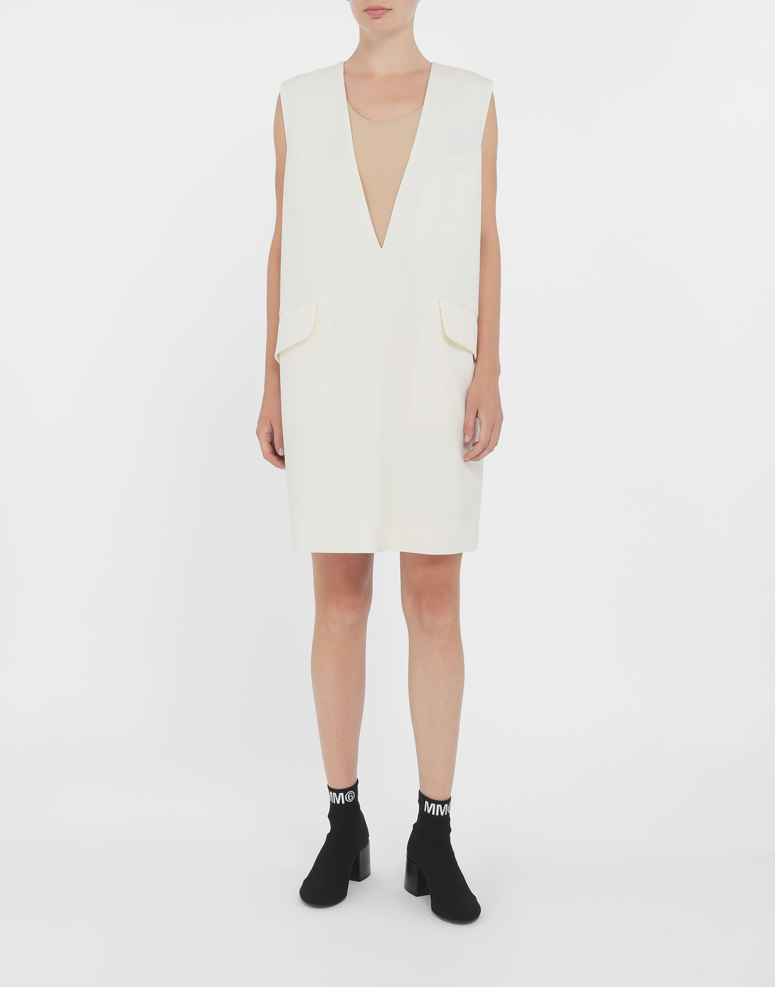 MM6 MAISON MARGIELA Décolleté dress Short dress Woman r