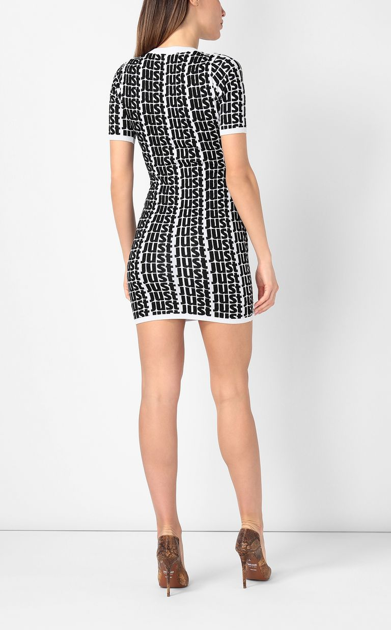 JUST CAVALLI Dress with Just logo Dress Woman a