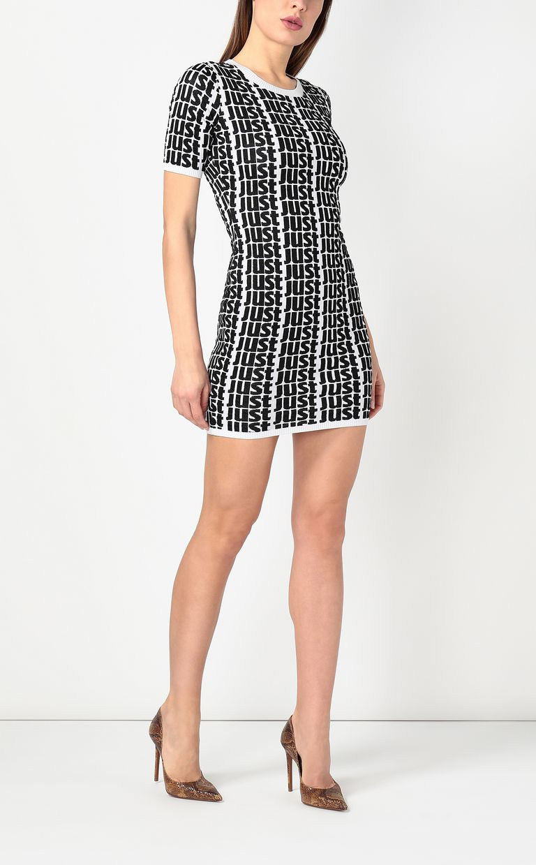 JUST CAVALLI Dress with Just logo Dress Woman d