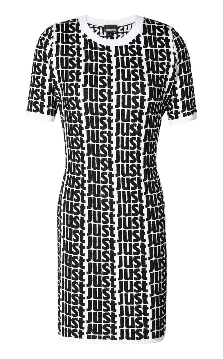 JUST CAVALLI Dress with Just logo Dress Woman f