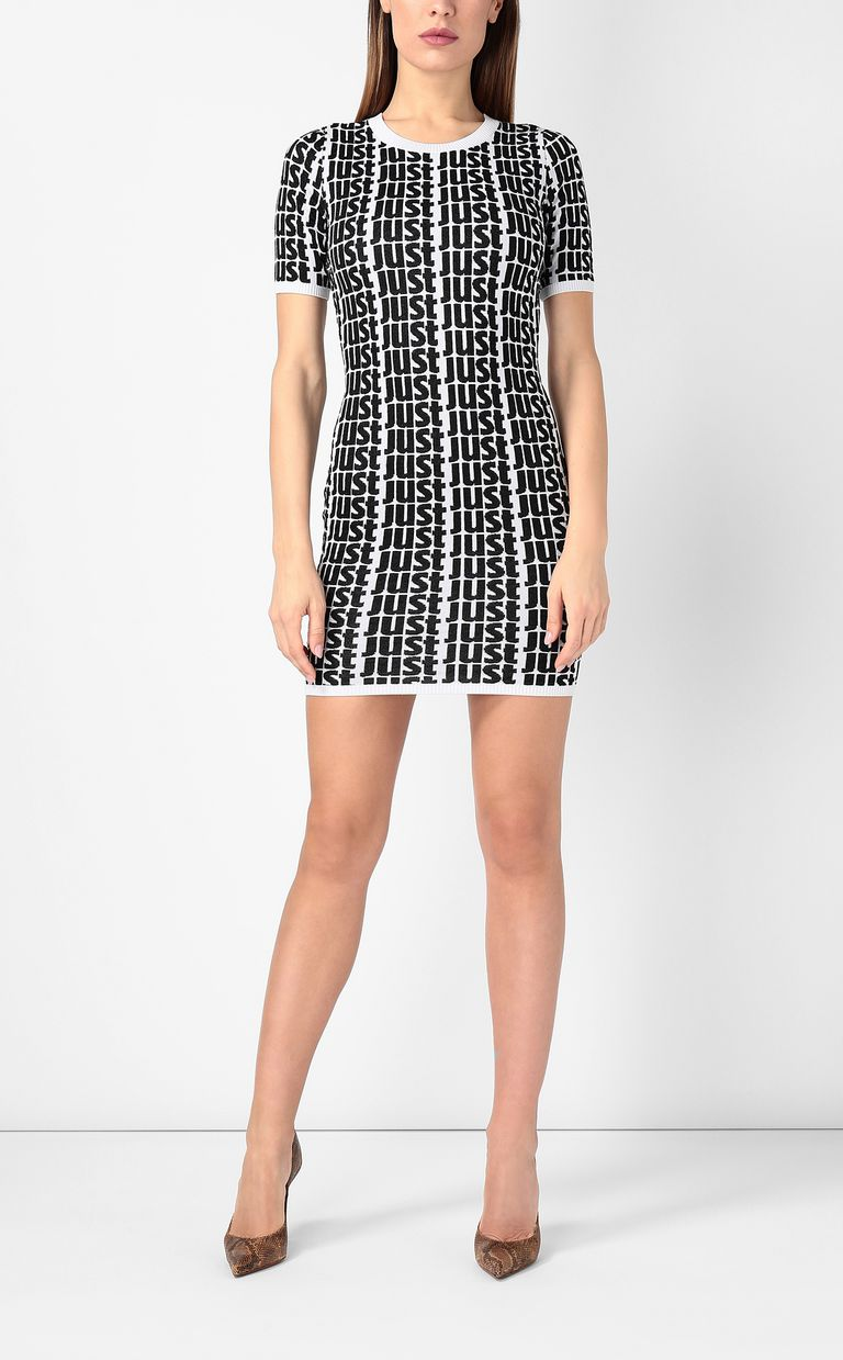 JUST CAVALLI Dress with Just logo Dress Woman r