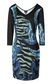 "JUST CAVALLI Dress with ""Bull flame"" print Dress Woman f"