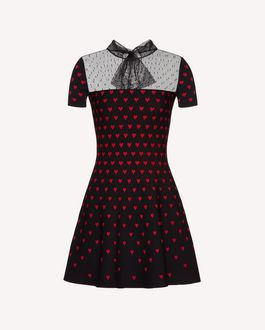 REDValentino Printed dress Woman SR0VAI054HP KY0 a