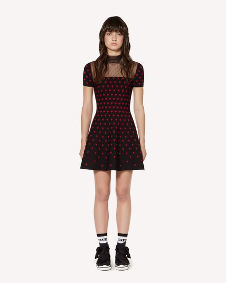 REDValentino Knit Dress Woman SR3KDA684FM 0NO f