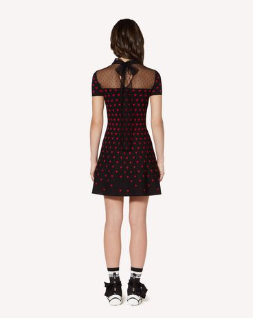 REDValentino SR3KDA684FM 0NO Knit Dress Woman r