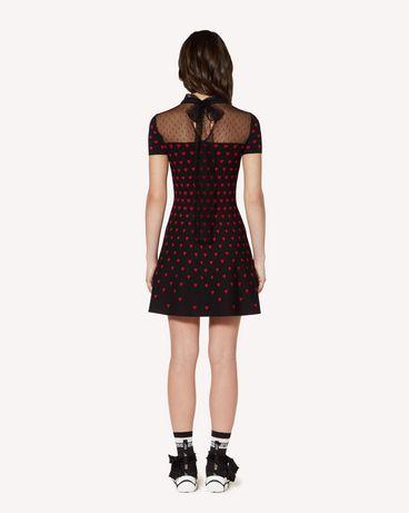 REDValentino SR3KDA684FM 0NO Vestido corto Mujer r