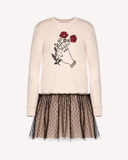 REDValentino Knit Sweater Woman QR0KC1E3453 FA9 a
