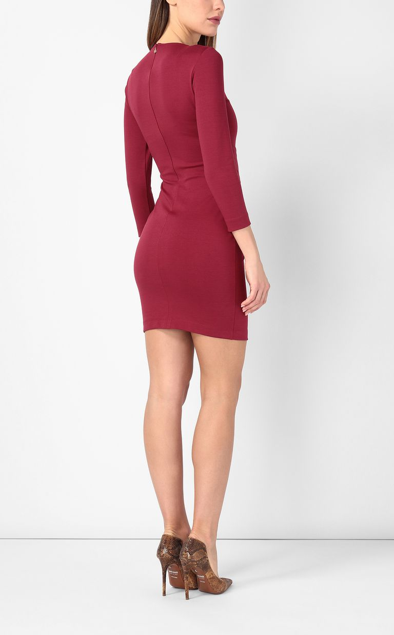 JUST CAVALLI Dress in red jersey Dress Woman a