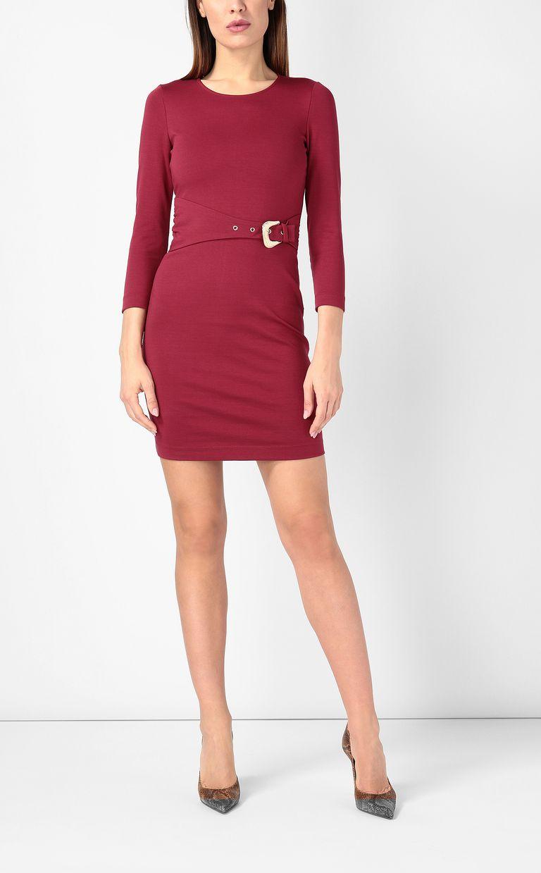 JUST CAVALLI ドレス ジャージー レッド ワンピース・ドレス レディース d