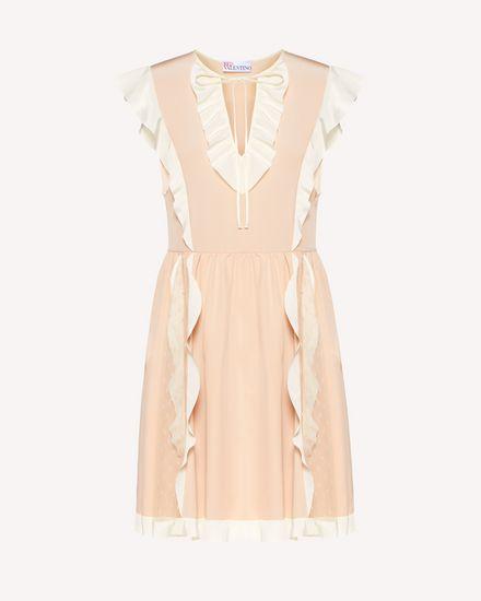 REDValentino Короткое платье Для Женщин SR3VAJ754PW 377 a