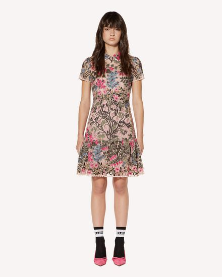 REDValentino Short dress Woman SR3VA03W4CV K3M f