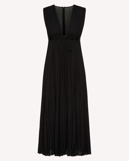 REDValentino Long dress Woman SR3VAF6549G 0NO a