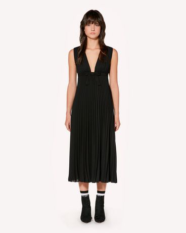 REDValentino SR3VAF6549G 0NO Long and midi dresses Woman f