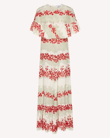 REDValentino Long dress Woman SR3VAG554A1 031 a