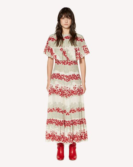 REDValentino Long dress Woman SR3VAG554A1 031 f