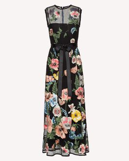 REDValentino Long and midi dresses Woman SR3MJ01U4EV 0NO a