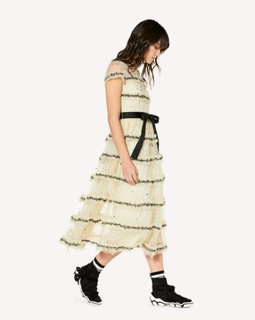 REDValentino SR3VA03N4CK 0AN Long dress Woman d