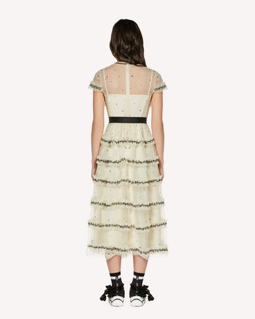REDValentino SR3VA03N4CK 0AN Long and midi dresses Woman r