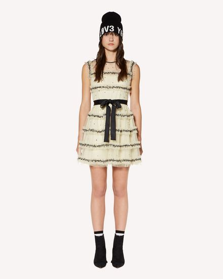 REDValentino Short dress Woman SR3VA03Q4CK 0AN f