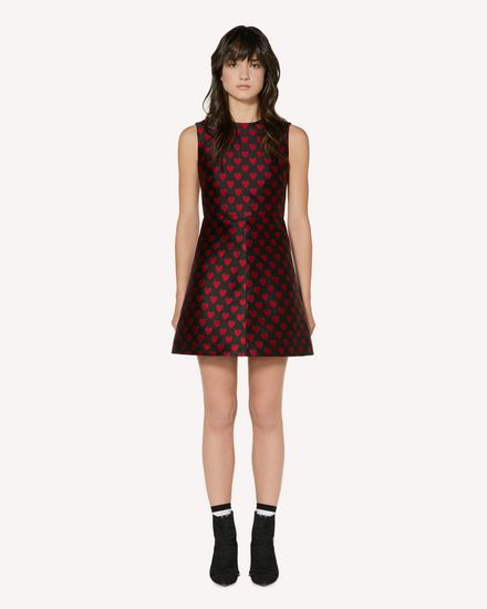 REDValentino Short dress Woman SR3VA2U649Q 0NO f