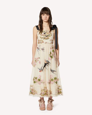 REDValentino SR0VA04B4KP AM0 Long and midi dresses Woman f