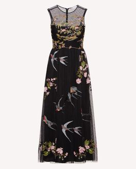 REDValentino Long and midi dresses Woman SR0VAI054HP KY0 a