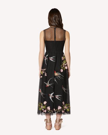 REDValentino SR0VA05D4KP N78 Long and midi dresses Woman r