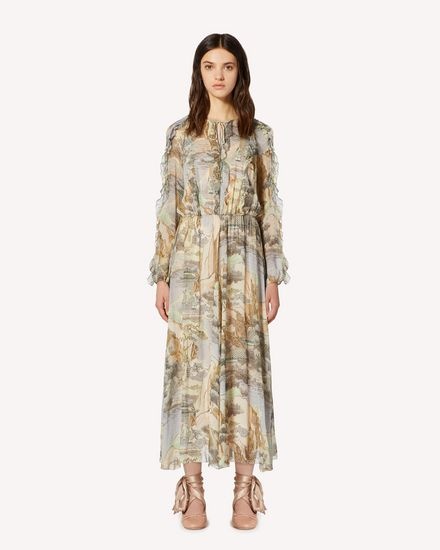 REDValentino Long and midi dresses Woman SR0CHA154HL DG8 f