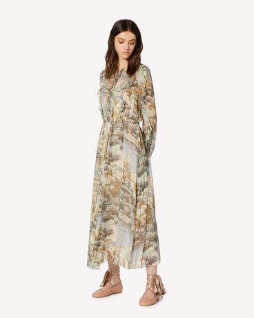 REDValentino SR0CHA154HL DG8 Long and midi dresses Woman d