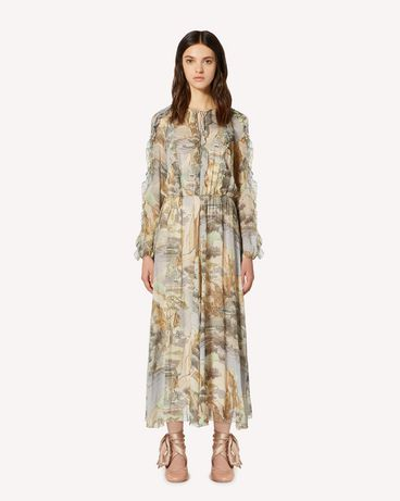 REDValentino SR0CHA154HL DG8 Long and midi dresses Woman f