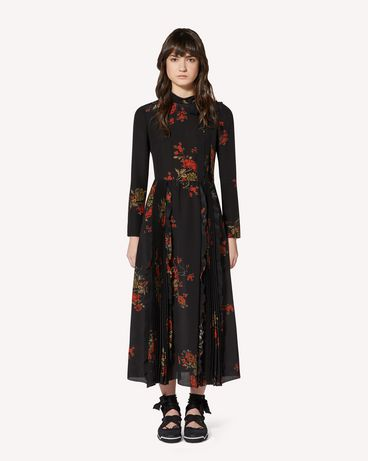REDValentino SR0VAI904J7 0NO Long and midi dresses Woman f
