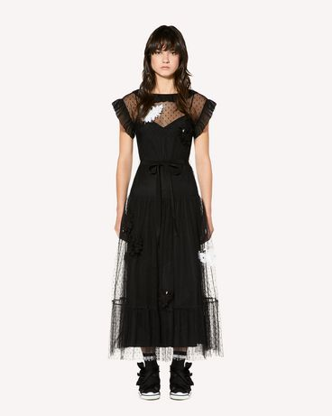 REDValentino SR3VAF3834R 0NO Long and midi dresses Woman f