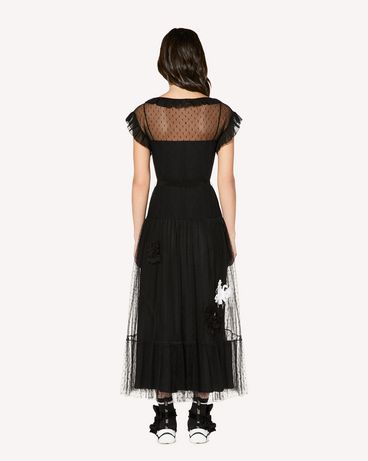REDValentino SR3VAF3834R 0NO Long and midi dresses Woman r