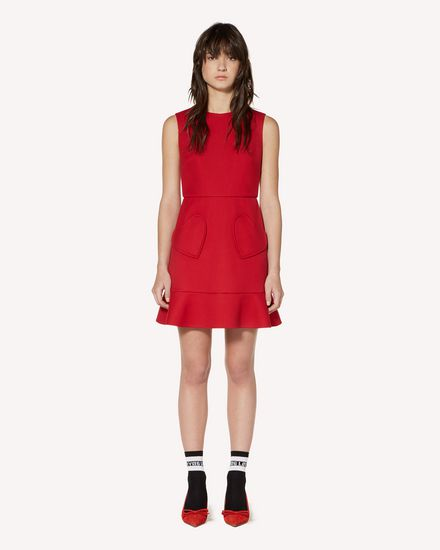 REDValentino Short dress Woman SR3VAH151Y1 D05 f