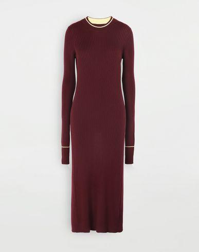 MAISON MARGIELA Open-back long top 3/4 length dress Woman f