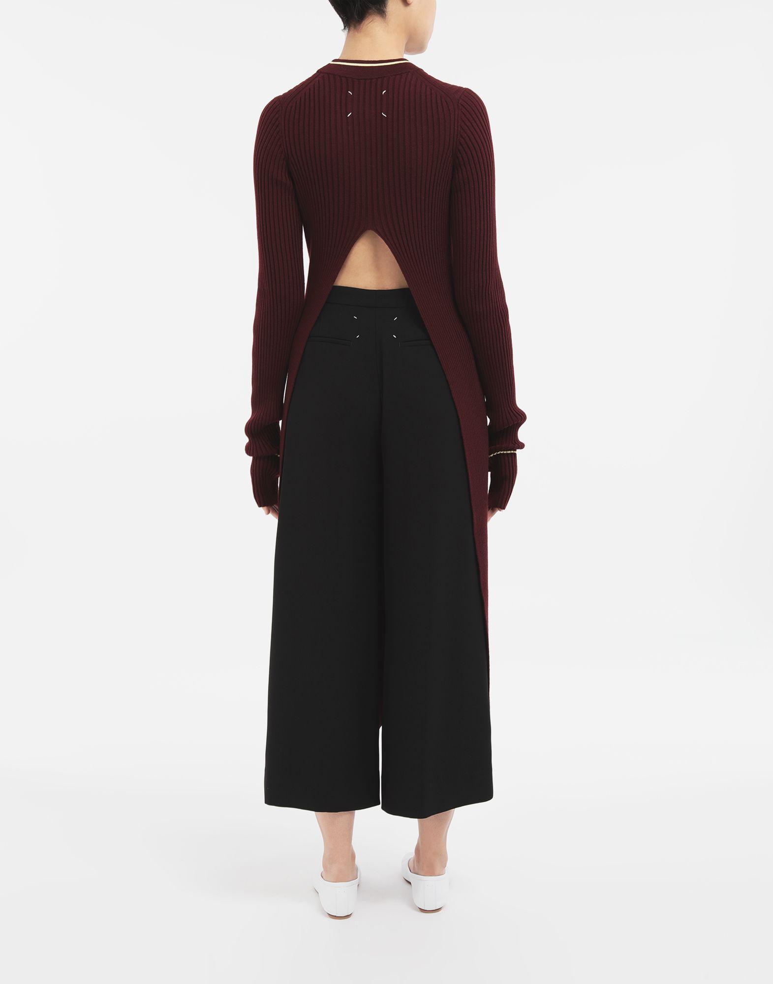 MAISON MARGIELA Open-back long top 3/4 length dress Woman e