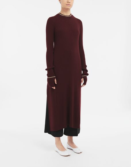 MAISON MARGIELA Open-back long top Dress Woman r