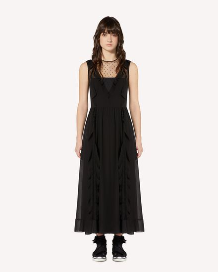 REDValentino Long and midi dresses Woman SR3VAJ702GA 0NO f